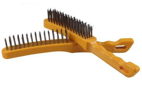 Hand Brushes - 4-Row Plastic Handle TAIPAN