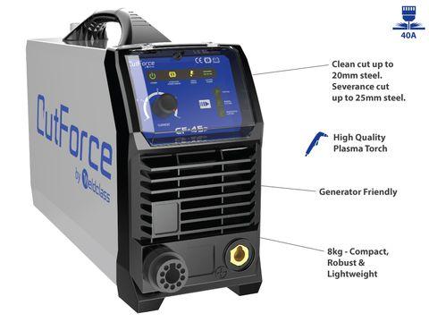 Plasma Cutter - CUTFORCE CF-45P