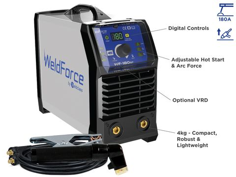 Stick / TIG Welder - WELDFORCE 180ST