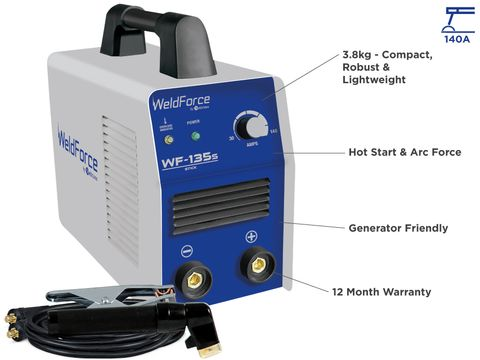Stick Welder - WELDFORCE 135S