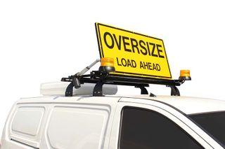 AUTO - PILOT OVERSIZE SIGN W/BEACONS
