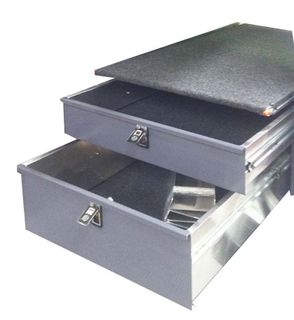 DRAWER (REAR) WITH FALSE FLOOR-1020X1400
