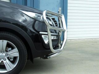 FRONT PROTECTION BAR - ALLOY - BLACK