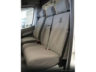 SEAT COVERS CANVAS - DRIVER & PASS BUCK
