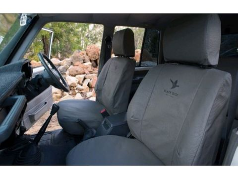CANVAS SEAT COVERS - DRIVER & PASS - S/C