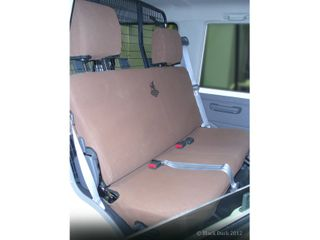 SEAT COVERS CANVAS - REAR BENCH - WAGON