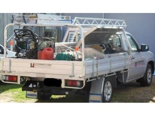 ROOF RACK - TRADES - 2.4M - TRAY BODY