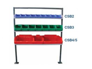 SHELVING - G1A - 3 TRAYS - 990L