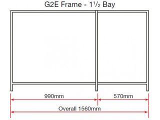 SHELVING - G1AE - 6 TRAYS - 1560L