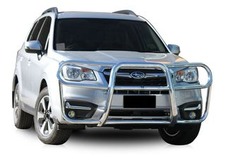 FRONT PROTECTION BAR - ALLOY - POLISHED