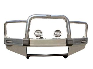 BULLBAR - ALLOY - POLISHED - BUMPER TYPE