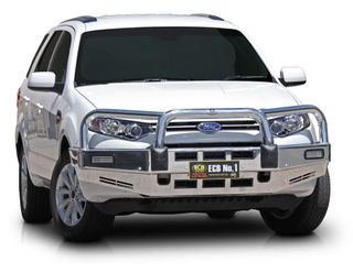 BULLBAR - ALLOY - POLISHED - SUITS FPA