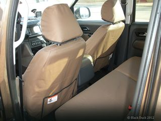 SEAT COVERS CANVAS - FRONT SEATS - TROOP
