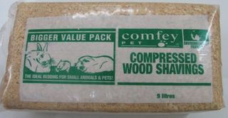 COMFEY PET PAC SHAVINGS 5L