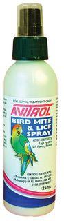 FIDOS AVITROL BIRD MITE LICE SPRAY 125ML