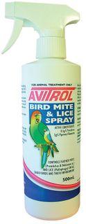 FIDOS AVITROL BIRD MITE LICE SPRAY 500ML