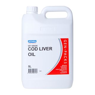 VETSENSE GEN-PACK COD LIVER OIL 5L