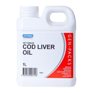 VETSENSE GEN-PACK COD LIVER OIL 1L