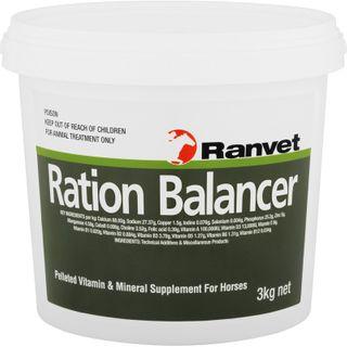 RANVET RATION BALANCER PELLET 3KG