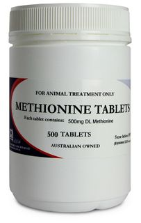 FIDOS METHIONINE 500 TABLETS P5210