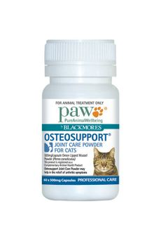 PAW OSTEOSUPPORT FOR CATS 60TABS