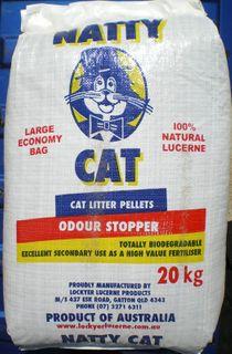 NATTY CAT 20KG