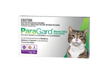 PARAGARD ALLWORMER FOR CATS 0-5KG 4TABS