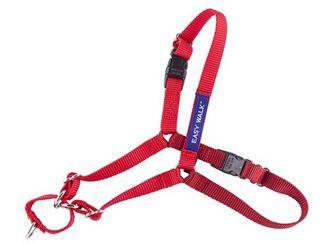 GENTLE LEADER EASY WALK HARNESS MEDIUM RED