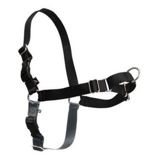 GENTLE LEADER EASY WALK HARNESS MEDIUM LARGE BLACK