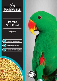PASSWELL PARROT SOFT FOOD 500G