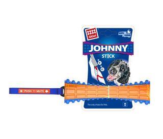 GIGWI JOHNY STICK PTM TRANS BLU/ORANGE