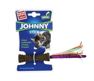 GIGWI JOHNY STICK C/NIP W COLOUR PAPER