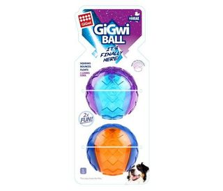 GIGWI BALL LARGE 2PACK