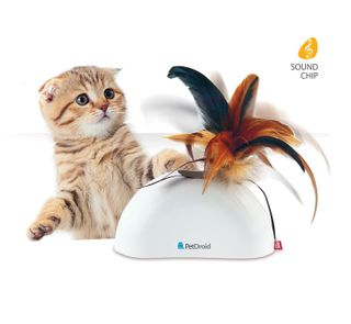 GIGWI PET DROID FEATHER HIDER