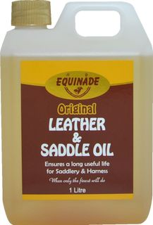 EQUINADE LEATHER & SADDLE OIL 1L