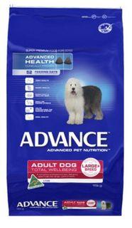 ADVANCE DOG LARGE PLUS LAMB 15KG