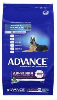 ADVANCE DOG LARGE PLUS TURKEY 15KG