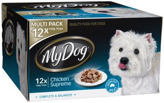 MY DOG CHICKEN SUP MULTI PK 12X100G BLUE