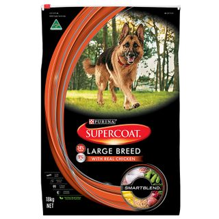 SUPERCOAT ADULT LARGE BREED CHICKEN 18KG