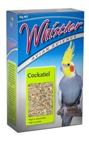 WHISTLER AVIAN SCIENCE COCKATIEL 2KG