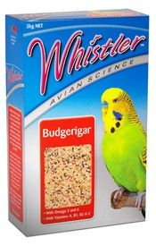 WHISTLER AVIAN SCIENCE BUDGIE 2KG
