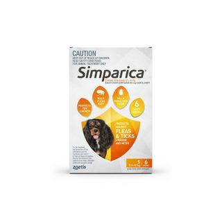 SIMPARICA 5.1-10KG 6PACK