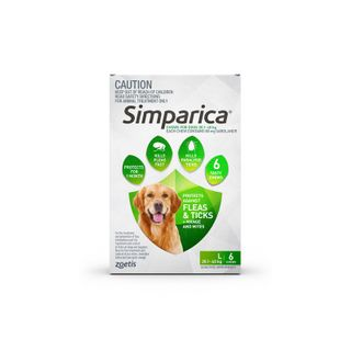 SIMPARICA 20.1-40KG 6PACK