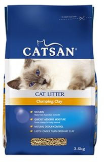 CATSAN ULTRA CLUMPING LITTER 3.5KG