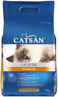 CATSAN ULTRA CLUMPING LITTER 7KG