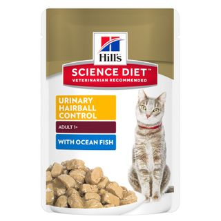 SCIENCE DIET FELINE URIN HB FISH 85GX12