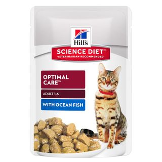 SCIENCE DIET FELINE ADULT OFISH 85GX12