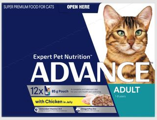 ADVANCE CAT CHICKEN TURKEY JELLY 12X85G