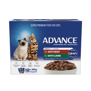 ADVANCE CAT MULTI PACK GRAVY 12X85G