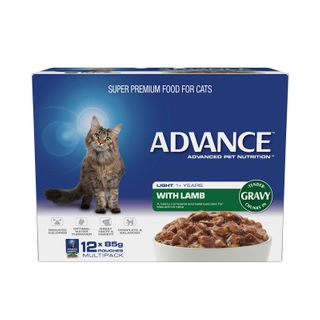 ADVANCE CAT LIGHT LAMB GRAVY 12X85G